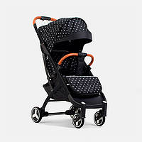 Детская прогулочная коляска YOYA plus 3 Звезда черная рама