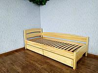 """Кровать детская с выдвижными ящиками из массива дерева """"Марта - 2"""" от производителя"""