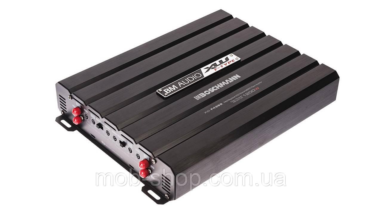 Автомобильный усилитель мощности звука Boschman BM Audio XW-F4399 1700W 4 канала