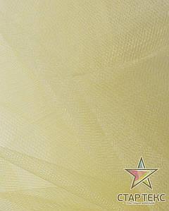 Фатин средней жесткости Crystal Tul Бледно-Желтый