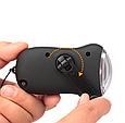 Мини портативный ручной  светодиодный фонарик на солнечных батареях, фото 2