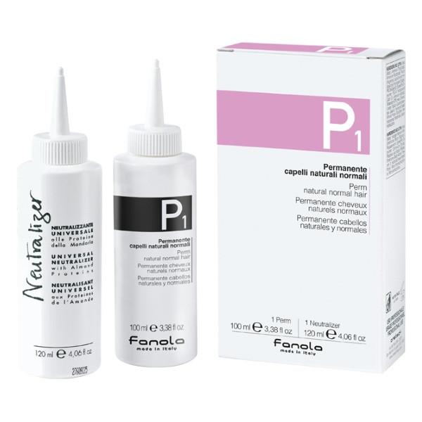 Набор для химической завивки нормальных волос Fanola 100 мл+120 мл