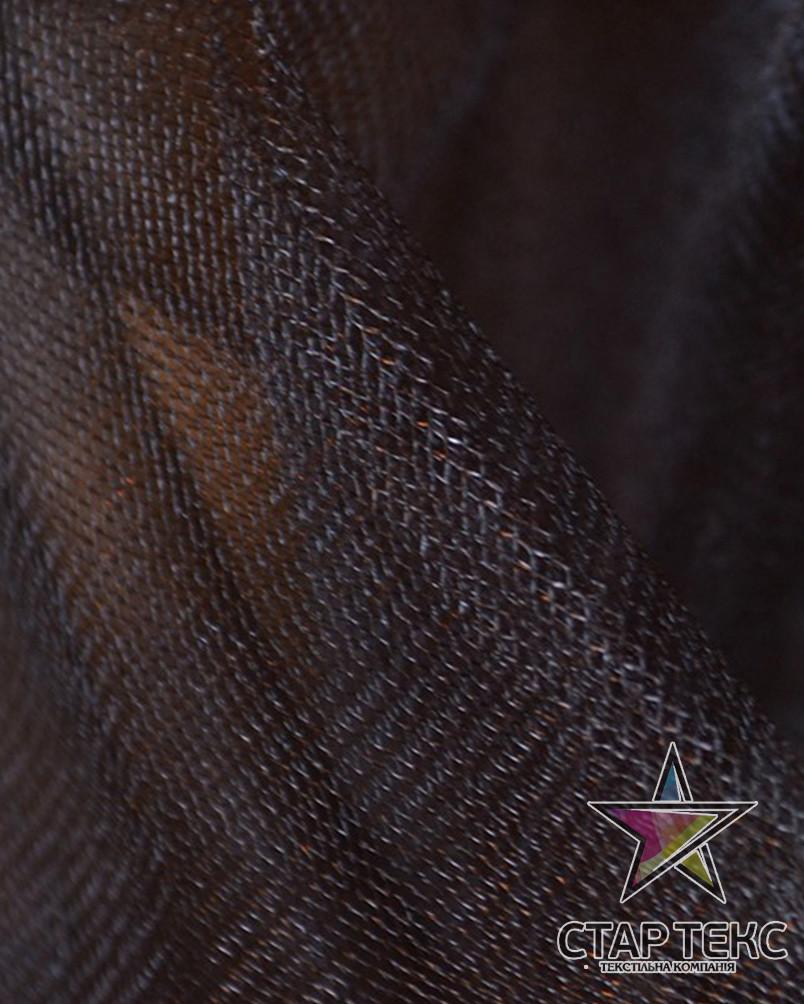 Фатин средней жесткости Crystal Tul Горький-Шоколад