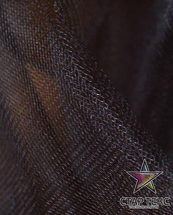 Фатин средней жесткости Crystal Tul Горький-Шоколад, фото 2