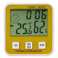 Уникальный Электронный термометр с гигрометром DC107