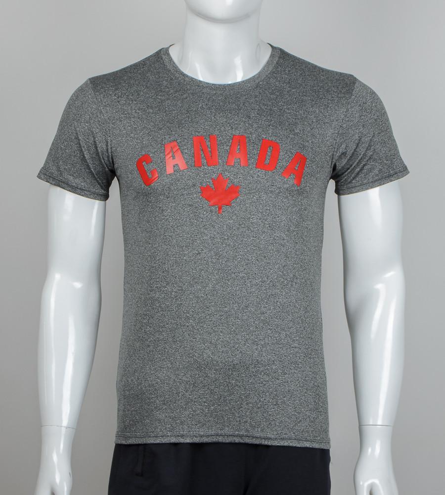 Футболка мужская CANADA (2012м), Мулине серый
