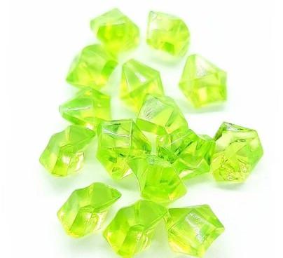 Кристаллы зеленные для слаймов (50516)