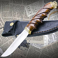 Нож Туристический Эксклюзивный Спутник Бизон