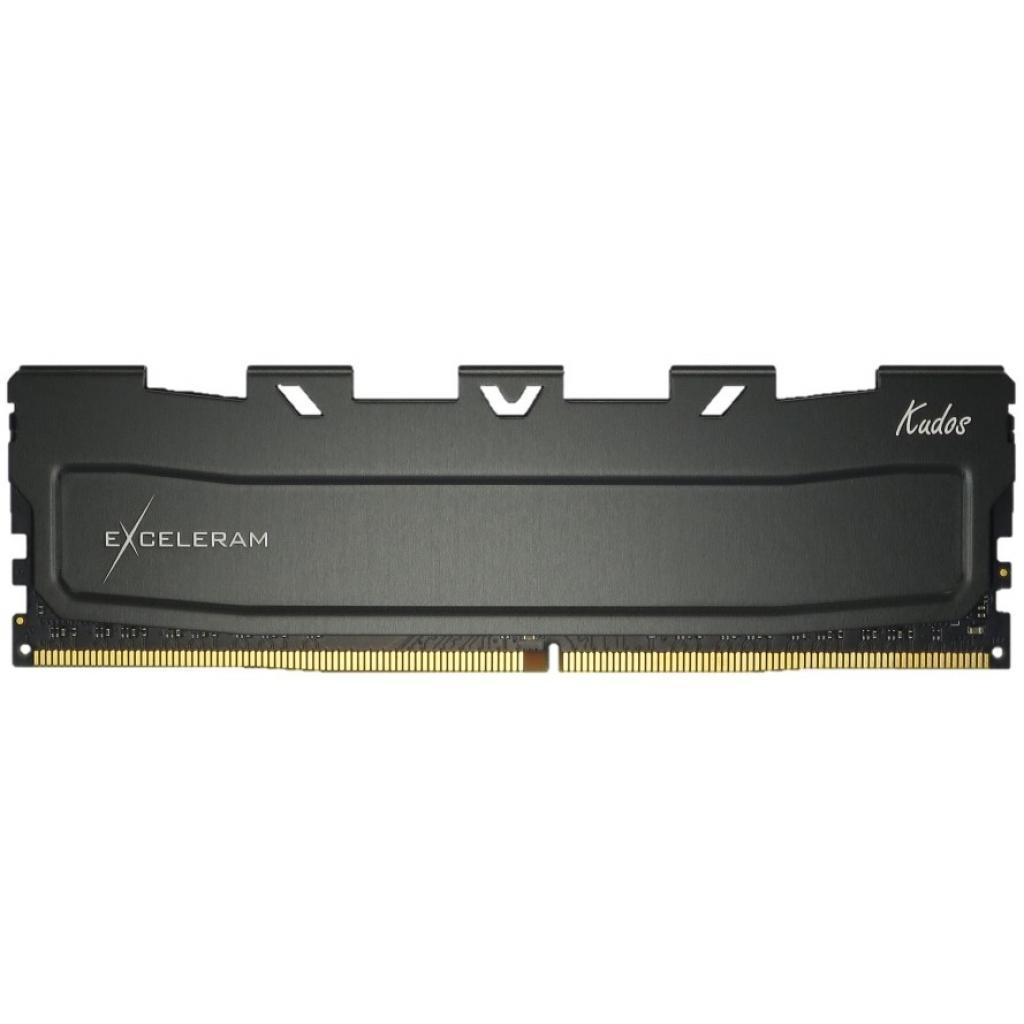 Модуль памяти для компьютера DDR4 16GB 3000 MHz Black Kudos eXceleram (EKBLACK4163018A)