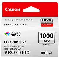 Картридж Canon PFI-1000PGY (Photo Grey) (0553C001)