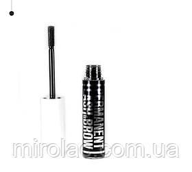 Гель-фиксатор,стайлер  для бровей Permanent lash&brow