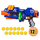 "Бластер ""Blaze storm"" с мягкими пулями шариками ZC 7087 Nerf Нерф    , фото 5"