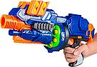 "Бластер ""Blaze storm"" с мягкими пулями шариками ZC 7087 Nerf Нерф    , фото 4"