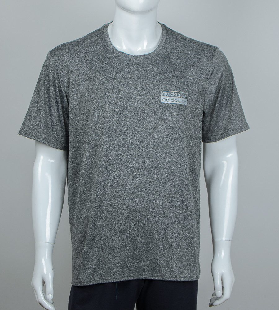 Футболка супер-батал мулине Adidas (2057сб), Серый