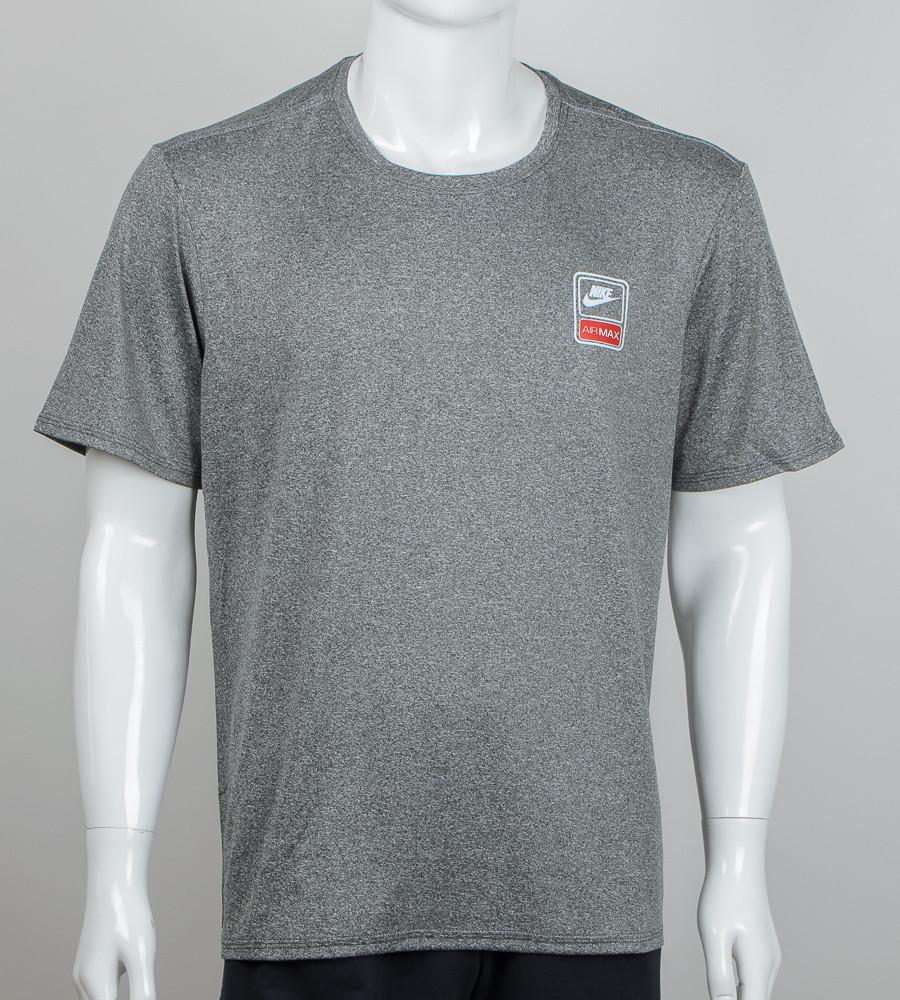 Футболка батал мулине Nike (2060б), Серый