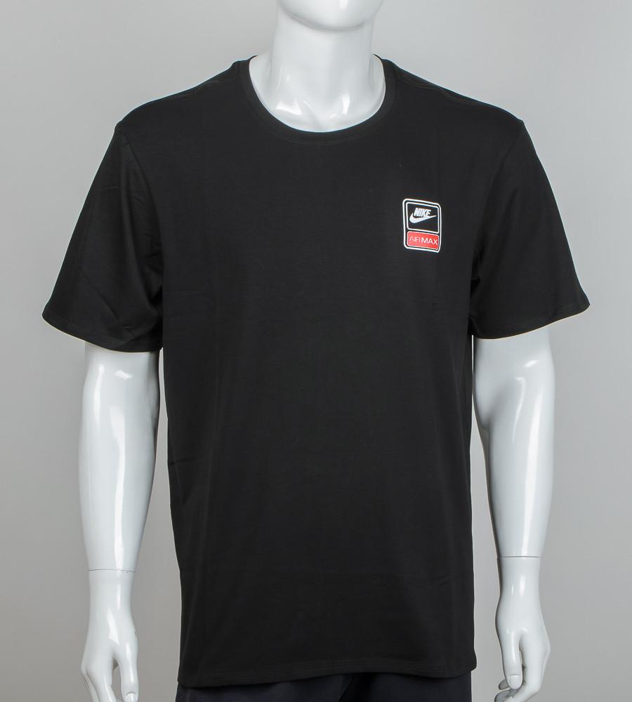 Футболка супер-батал Nike (2060сб), Чорний