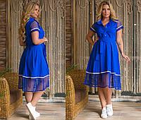 Женское летнее платье.Размеры:48,50,52,54.+Цвета, фото 1