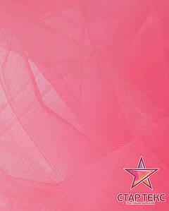 Фатин средней жесткости Crystal Tul Ярко-Розовый