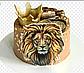 Вафельная картинка лев, фото 3