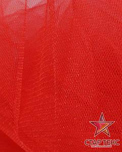 Фатин средней жесткости Crystal Tul Красный