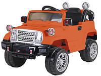 Детский электромобиль Jeep (оранжевый цвет) с пультом дистанционного управления