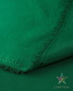 Ткань Креп Сатин Зеленый
