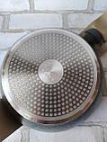 Сковорода глибока d-26 cм  h-7 см GUSTO GT-2103 450 грн, фото 3