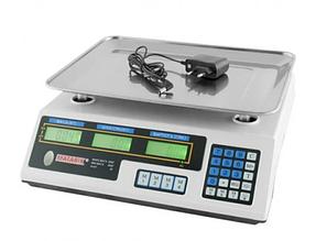 Весы торговые аккумуляторные до 50 кг MX-410 MATARIX 4V 2202 ACS 50kg/5g (Оригинал) ZD