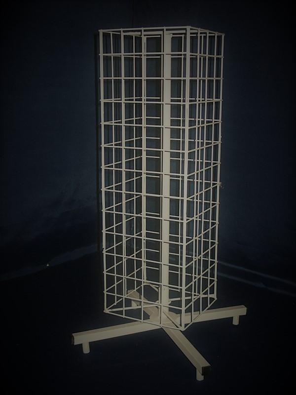 Вертушка барабан четырехгранная настольная