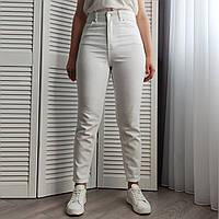 Женские джинсы мом белые. Артикул: A3269