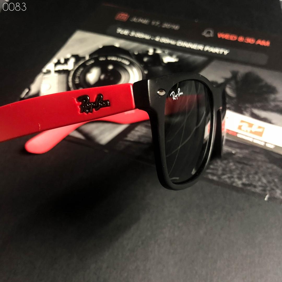 Мужские черные солнцезащитные очки Ray Ban (реплика)