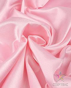 Ткань Креп Сатин Розовый