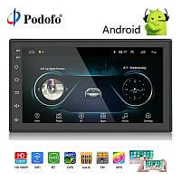 Автомагнитола 2 DIN8701AndroidWi Fi, Bluetooth, Gps Навигация, Мультимедийная навигационная система.