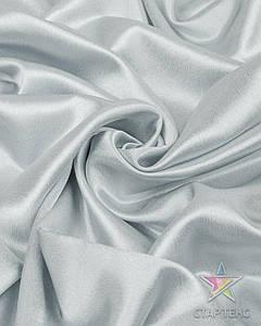 Ткань Креп Сатин Светло-серый