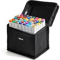 48 цветов! Набор двусторонних маркеров Touch для рисования и скетчинга на спиртовой основе  48 штук