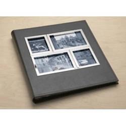 """Фотоальбом """"Horizon"""" на 260 фото черного цвета с отделкой из хрома"""