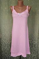 Женская ночнушка. Хлопок. Розовый  46-48 р., фото 1