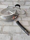 Сковорода з кришкою d-28 cм GUSTO GT-2107 615 грн, фото 8