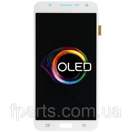 Дисплей для Samsung J700 Galaxy J7 с тачскрином, White (OLED), фото 2