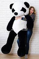 Плюшевый мишка Панда (Черная 200 см) мягкая игрушка