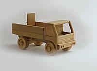 Машинка самосвал деревянная (Ольха натуральная)