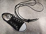 Шнурки гумки кольори білий, чорний,червоний, салатовий, фото 6