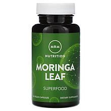 """Листья моринги MRM """"Moringa Leaf"""", 600 мг (60 капсул)"""