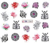 Слайдер дизайн для ногтей водный BN-1561