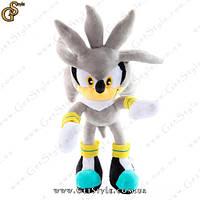 "Игрушка ежик Сильвер из Sonic - ""Baby Silver"" - 30 см"