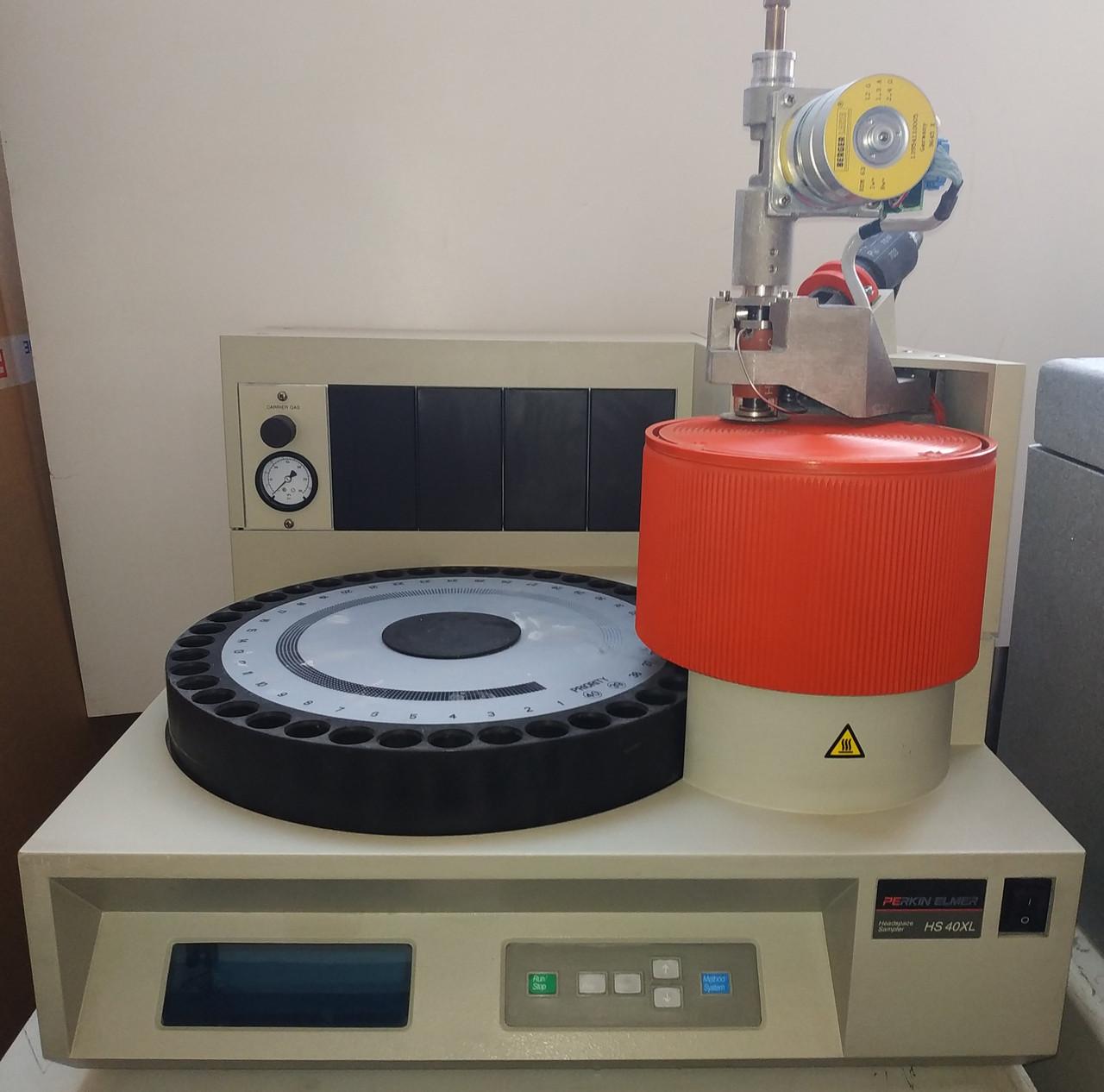 Б/У Парофазный пробоотборник Perkin Elmer HS 40XL Headspace Sampler. Газовый хроматограф
