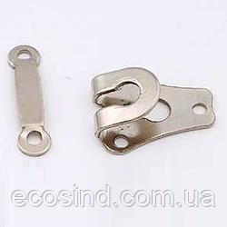Крючок брючный - Никель (657-Л-0718)