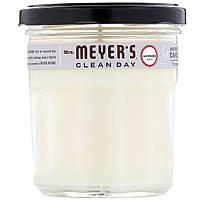 Mrs. Meyers Clean Day, Ароматизированная соевая свеча, с запахом лаванды, 7,2 унции