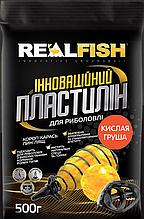 Пластилин Real Fish Кислая груша 0,5кг