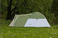 Палатка 4-х местная Presto Acamper MONSUN 4 PRO зеленая - 3500мм. H2О - 4,1 кг, фото 2